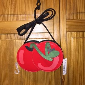 New cherry design wallet